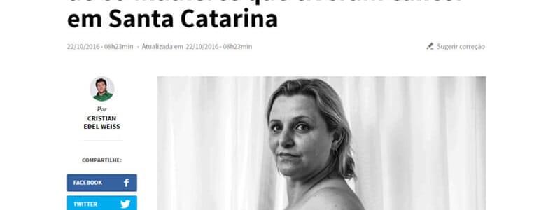 Mutirão faz reconstrução de mama em 69 mulheres em Santa Catarina